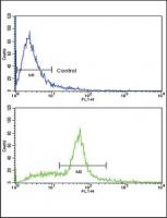 Flow cytometric analysis of WiDr cells u